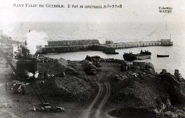 El port de Sant Feliu era... inacabable